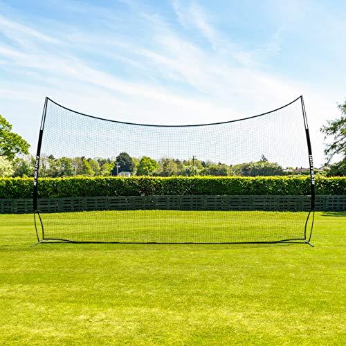FORZA Pop-Up Stop That Ball – 3m Hoch Ballstoppsystem – eine Tragetasche und Bodenankern Werden enthalten (6m breit)