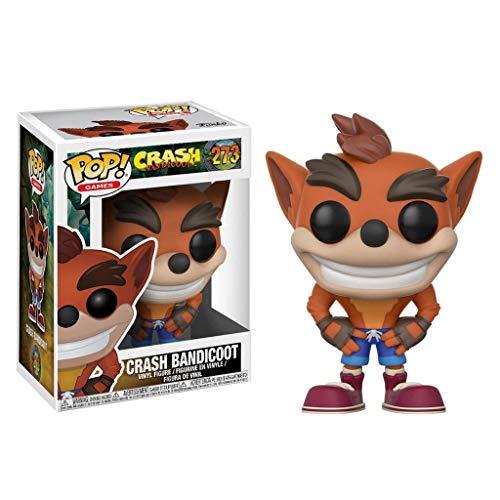 LRWTY ¡Popular!Juegos: Crash Bandicoot - Crash Bandicoot (Los Estilos Pueden Variar) de colección de Vinilo Figurita de Juegos de la Serie Gifts