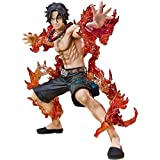 siyushop Portgas D. Ace One Piece Action Figure - Figuarts Zero (D. Ace -Battle Versione) - Alto 5,9 Pollici (Versione Non Originale)