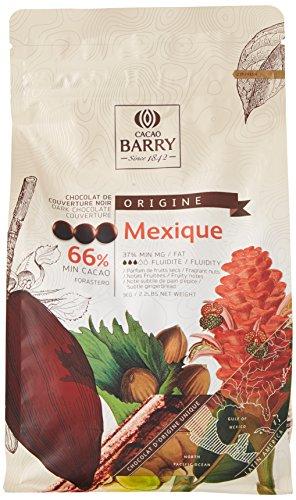 CACAO BARRY 66% Min Cacao Chocolat Mexique Pistoles 1 kg