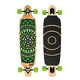 Osprey Longboard Twin Tip Green Black
