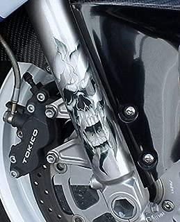 i5 Fork Skull Sticker Decals for Harley Davidson Sportster Softail Dyna Road King Electra Tour Street Hydra Super Wide Glide Fat Boy V-Rod VRSC FXD FLD FLS FXS FX FL XL 883 1200