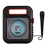 boAt PartyPal 20 Wireless Party Speaker, Party Sound (15W), BT 5.0/Aux/USB/Radio, Integrated Controls