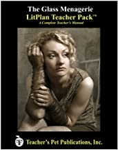 The Glass Menagerie LitPlan - A Novel Unit Teacher Guide With Daily Lesson Plans (Paperback)