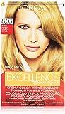 L'Oreal Paris Excellence Blonde Legend Crema Color Triple Cuidado, Tono Rubio Divino 8.03 - 200 g