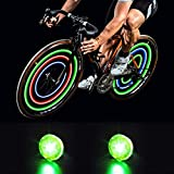 MapleSeeker Bike Wheel Lights Bike Spoke Lights with Batteries...