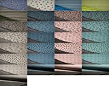 Fabrics-City 2M SOFTIGER Melange BAUMWOLLFLEECE Stoff