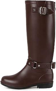 TQGOLD® Botas de Agua Mujer Niña Botas de Lluvia Altas Impermeable Wellington Boots