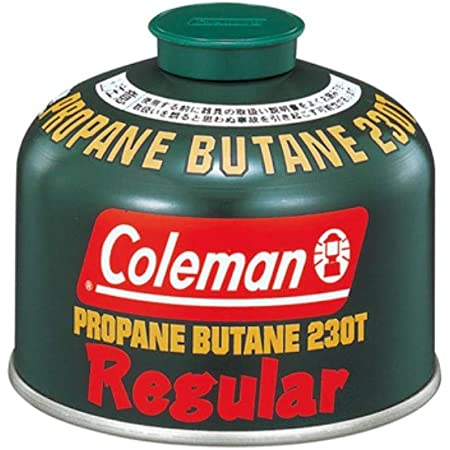 コールマン Coleman 純正LPガス燃料 Tタイプ 230g 5103A230T