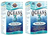 Oceans 3 - Better Brain 90 Gels [Pack of 2]