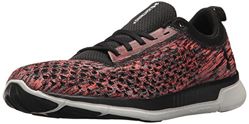 Under Armour Men's Lightning 2 Running Shoe, Neon Coral (600)/Black, 7