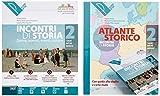 Incontri di storia. Donne, uomini, eventi, culture. Atlante storico. Per la Scuola media. Con ebook. Con espansione online. Con DVD-ROM (Vol. 2)
