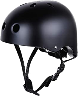 Zacro Skateboard Helmet, CPSC and CE Certified Youth Helmet for Multi-Sports, Cycling, Skateboarding, Scooter Roller, One Sport Headwear Included, Fits for 55-58cm Head Circumference