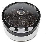 Brushes Pequeño hogar café Tostador Tostador Tostador de Grano eléctrico Salud seco Fruta Tostador Roaster