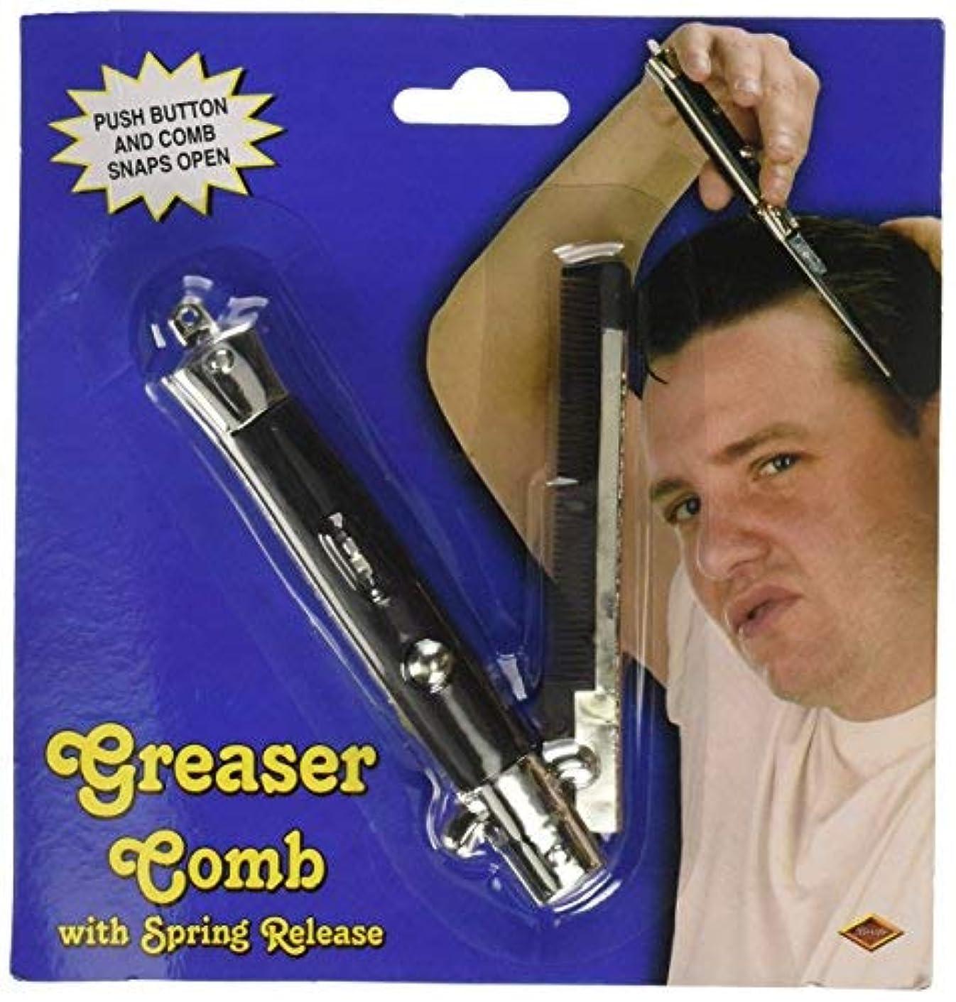 きしむ拘束ゴールGreaser Comb Party Accessory (1 count) (1/Pkg) [並行輸入品]