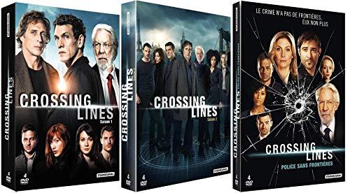 12 DVD - Crossing Lines - L'Intégrale de la Série - Saisons 1 à 3