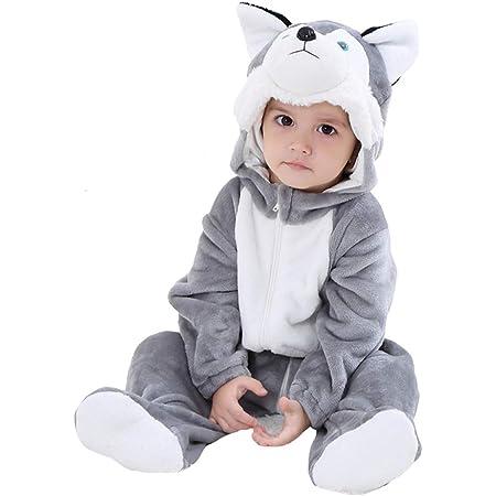 Disfraz de Perro dálmata para bebé Pijama súper Suave para bebé Regalo de cumpleaños
