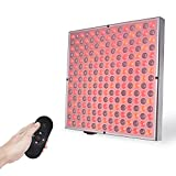 SGROW 45W Red Light Therapy Lamp LEDs Red Lights Deep Red 660nm & Near Infrared 850nm Red Light with Control Remote