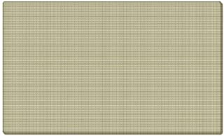 Ghent 12x48 Fabric Tackboard w/ Wrapped Edge - Beige - Made in the USA by Ghent