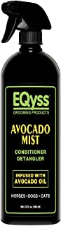 Eqyss Avocado Mist Pet Conditioner - Shines, Conditions, and Reduces Shedding