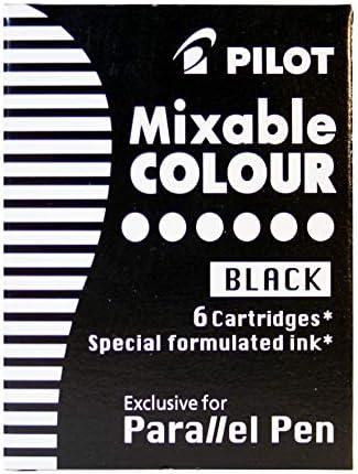 Pilot Parallel Pen Refill Black 6 Pack