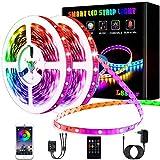 Tiras LED 20m, L8star Luces Led Habitación 5050 RGB, Control Remoto 44 Botones y App, Sincronización Musical, 16 Millones de Colores 28 Modos Perfecta Para Decoración TV, Salón Fiestas Dormitorio