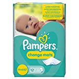 Pampers 12 Change Mats, 60x60cm