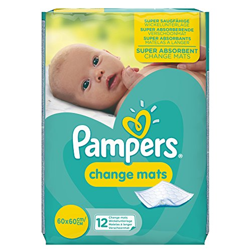 Pampers Change Mats Normal, 12 Stück