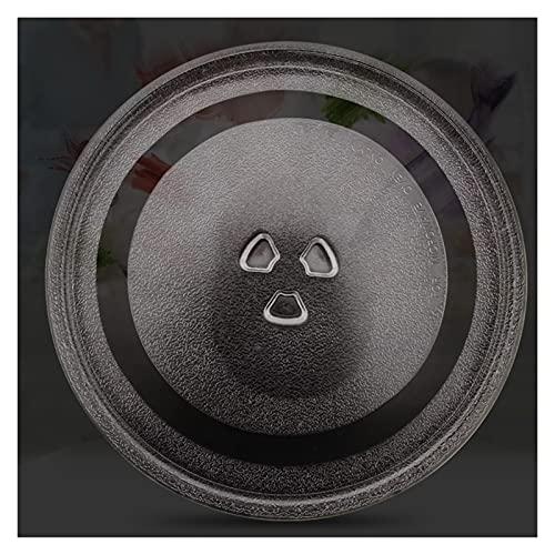 ZCX Zcxiong para MI/DEA GALANZ Microwave HORNIO DE Micro DE Cristal DIÁTICO DE PALTENA Plante DIÁLICO DE PALTENA DE LOS Placas DE BANDEZA DE VIDRIOS DE 24.5 CM