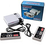 Classic Retro Game Console, Mini Video Game System Built-in 620 Games with 2 NES Controllers