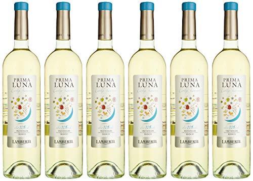 Lamberti Prima Luna Early harvest 10% Bianco Weißwein trocken (6 x 0.75 l)