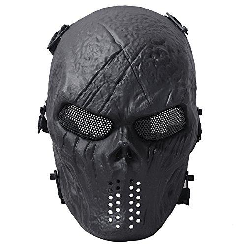 Coofit cranio del fantasma di Airsoft Paintball...