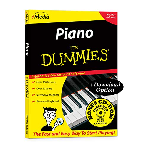 eMedia Piano For Dummies v2 - Amazon Exclusive Edition with 150+ Additional Lessons