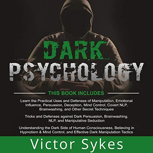 『Dark Psychology: 3 Books in 1』のカバーアート