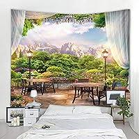 寮の部屋の装飾風景タペストリー家の壁の装飾リビングルームの家の装飾150x100cm