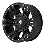 xd rockstar wheels 17 - XD Series by KMC Wheels XD822 Monster 2 Matte Black Wheel (17x9