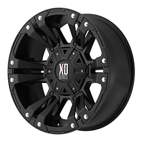 XD Series by KMC Wheels XD822 Monster 2 Matte Black Wheel (18x9'/6x135mm, +18mm offset)