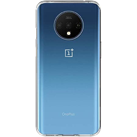 Amazon Brand - Solimo Mobile Cover (Soft & Flexible Back case) Transparent for Oneplus 7T