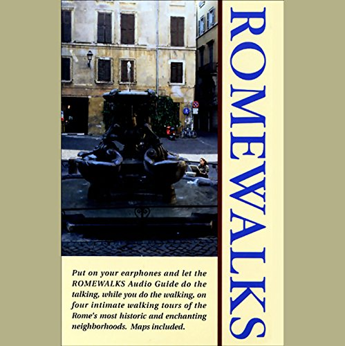 Romewalks audiobook cover art