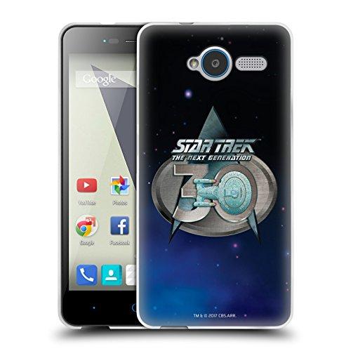 Head Case Designs Oficial Star Trek Insignia 2 Logo del 30 Aniversario TNG Carcasa de Gel de Silicona Compatible con ZTE Blade L3