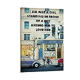 CHANGCHEN Notting Hill Filmkunst-Poster und Wandkunstdruck,