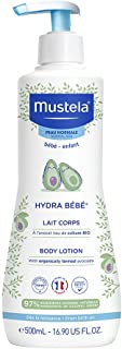 Mustela Hydra Bébé Kroppsmjölk för Känslig Bebishud
