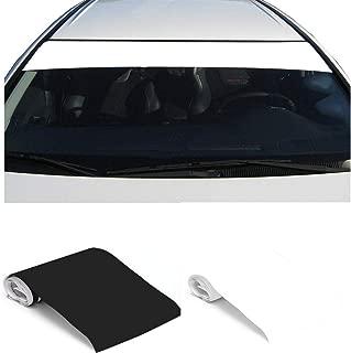 blank windshield banner