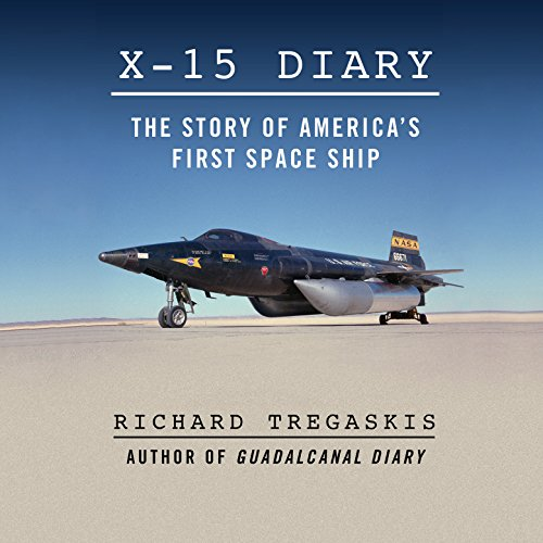 X-15 Diary audiobook cover art