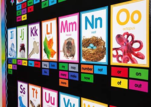 Colorful Photo Alphabet Cards Bulletin Board Photo #3