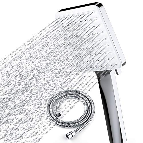 Newentor Shower Head with Hose, High Pressure Shower Heads with Hose 1.5m,...