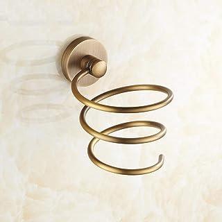 Support pour sèche-Cheveux Etendoir Blow Dryer Tenture Murale Cadre de RAM Cadre de Rangement en Bronze-B