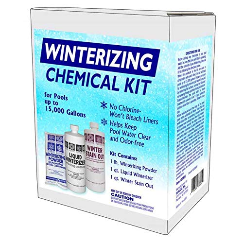 Qualco Pool Closing Chemical Kit for All Pools up to 15,000 Gallons