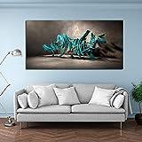 3D abstrakte Moderne Leinwand Malerei rahmenlose Wandkunst Bild Poster und Produkt für Wohnzimmer...