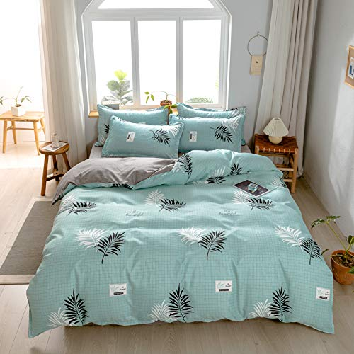 Super Soft, Comfortable And Easy-Care Bedding, Simple And Stylish Checkered Striped Quilt Cover And Pillowcase, Easy To Use Home Textiles In All Seasons